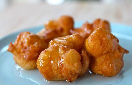 A Sephardic Hanukkah Recipe: Bimuelos with Honey-Orange Drizzle