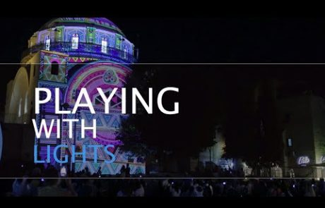 The Jerusalem Festival of Light in the Old City