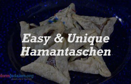 Easy & Unique Hamantaschen