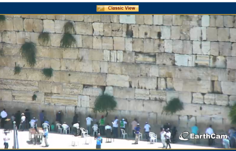 Live Stream of the Western Wall