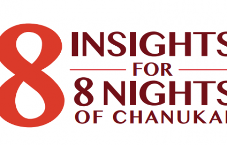8 Insights for 8 Nights of Hannukah