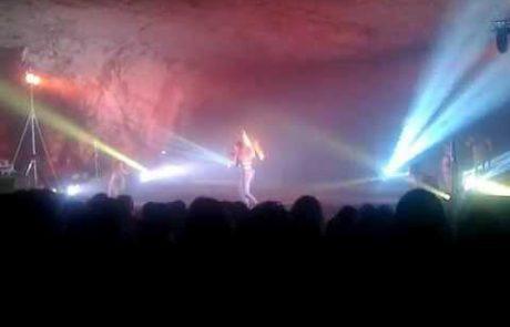 Musical Light Show in Zedekiah's Cave